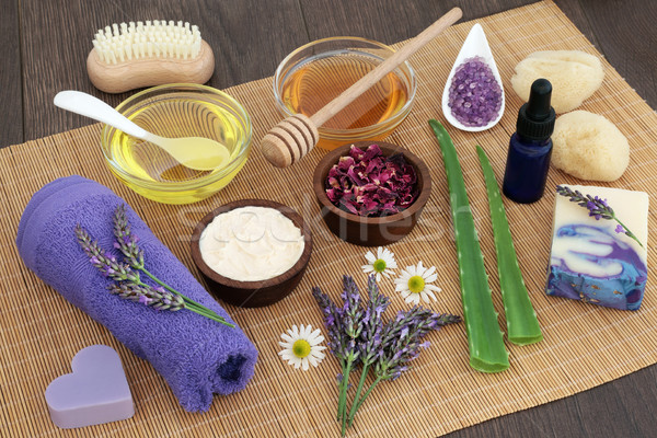 Medicinal Herbs for Skincare Stock photo © marilyna