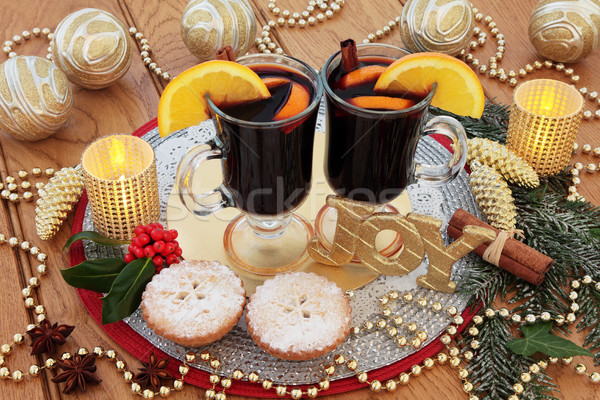 Christmas Joy Scene Stock photo © marilyna