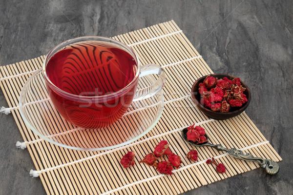 Pomegranate Herb Flower Tea Stock photo © marilyna