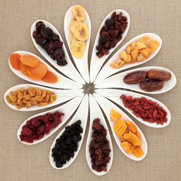 Dried Fruit Selection Stock photo © marilyna