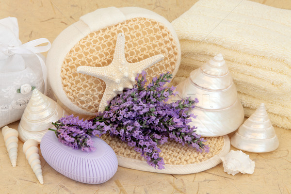 Stock photo: Lavender Flower Spa
