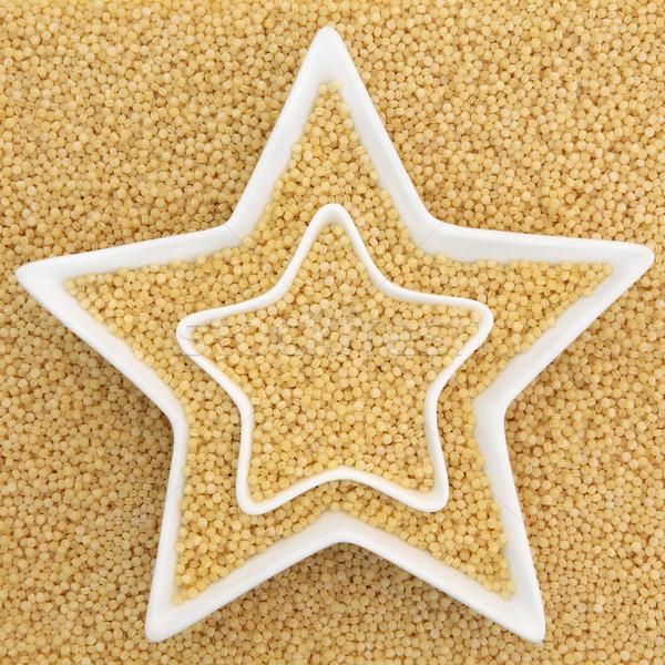 Perla couscous salute alimentare star Foto d'archivio © marilyna