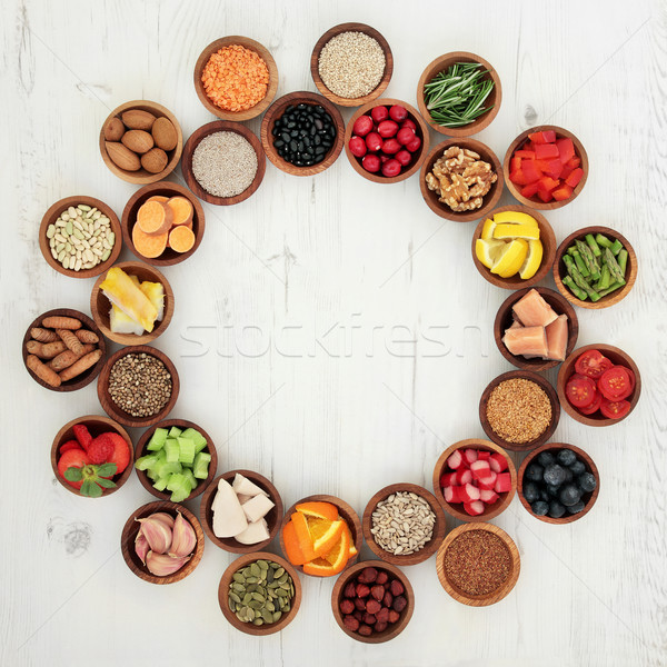 Healthy Super Food Selection   Stock photo © marilyna