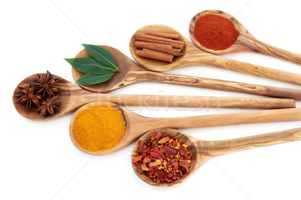 Oriental Spices Stock photo © marilyna
