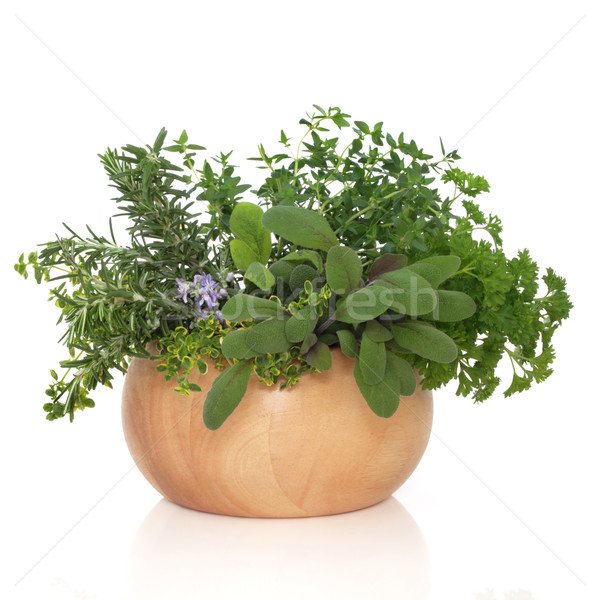 Persil sauge romarin herbes herbe feuille Photo stock © marilyna
