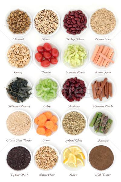 Diet Food Sampler Stock photo © marilyna