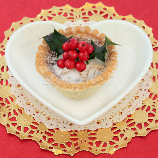 Mince Pie Stock photo © marilyna