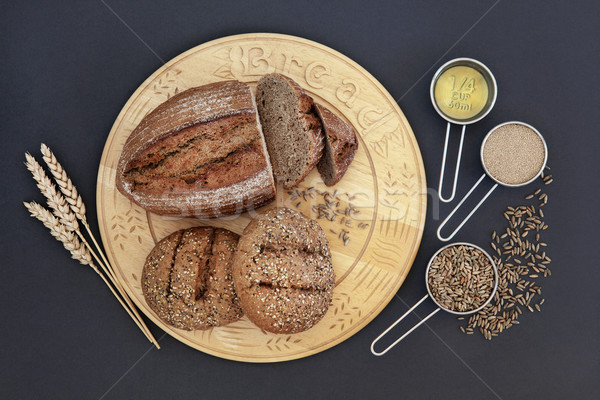 Rye Bread Health Food Stock photo © marilyna