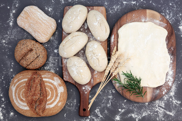 Baking Bread Stock photo © marilyna