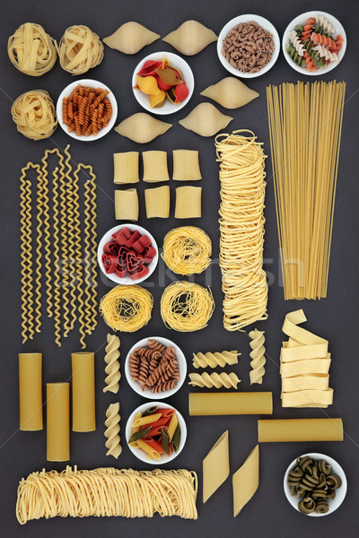 Dried Pasta Selection Stock photo © marilyna