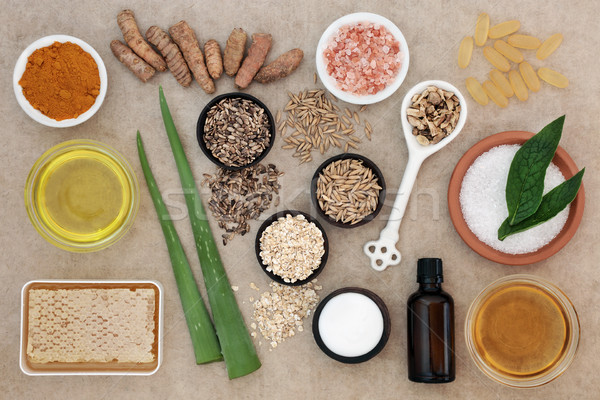 Natural Ingredients for Skin Health Care Stock photo © marilyna