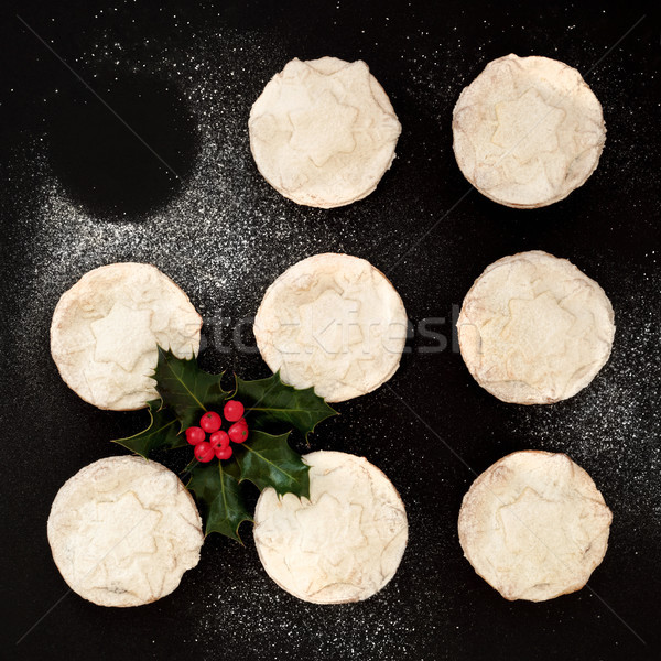 Stock photo: Christmas Mince Pies