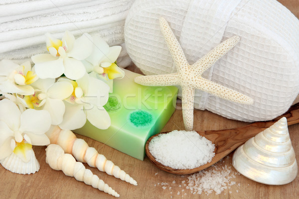 Spa and Wellness Setting Stock photo © marilyna