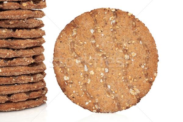 Multi Grain Crisp Bread Stock photo © marilyna