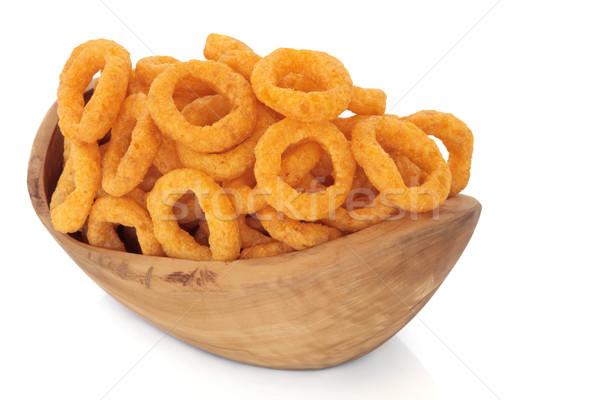 Onion Ring Crisps Stock photo © marilyna