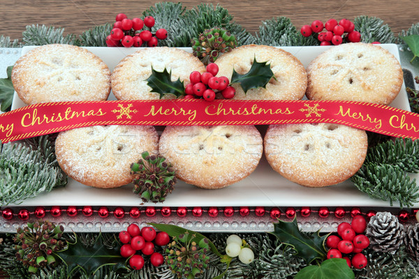 Mince Pie Treats Stock photo © marilyna