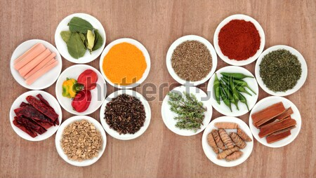 Herbal Health Ingredients Stock photo © marilyna
