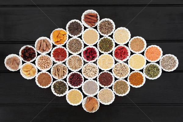 Dried Health Food Sampler Stock photo © marilyna