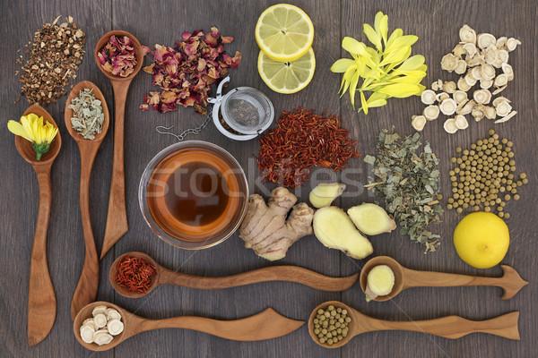 Healthy Herbal Teas Stock photo © marilyna