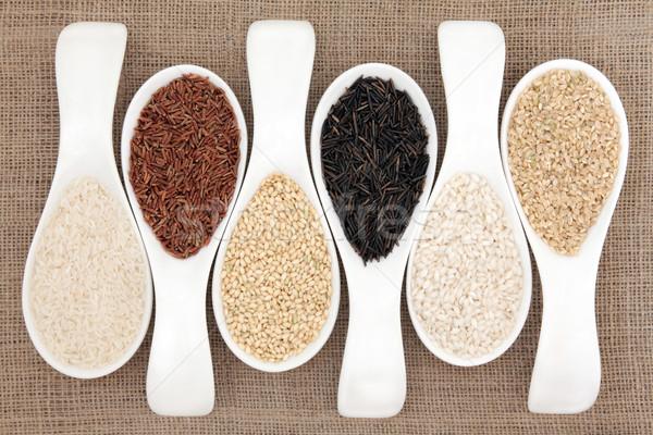 Rice Stock photo © marilyna