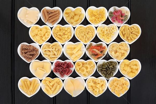 Italian Pasta Sampler Stock photo © marilyna