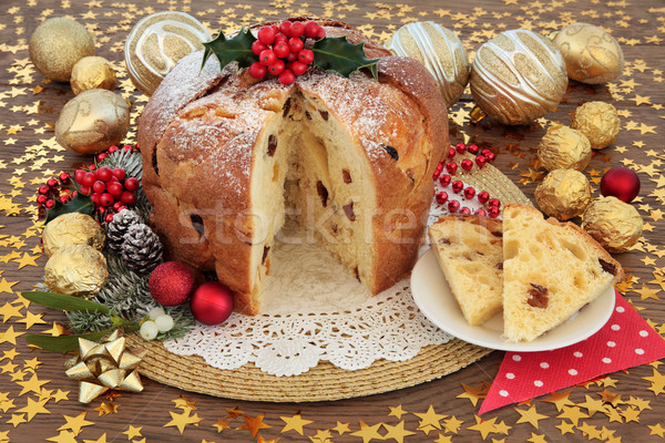 Panettone Cake Stock photo © marilyna