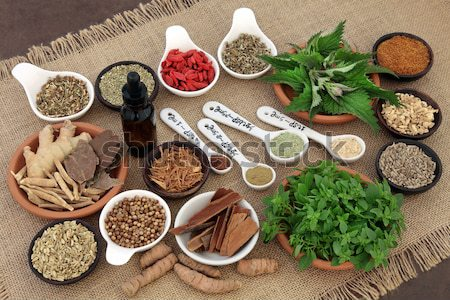 Herbs and Spices for Mens Health  Stock photo © marilyna