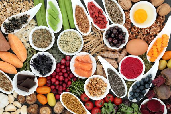 Alimentaire cerveau cognitive santé super Photo stock © marilyna