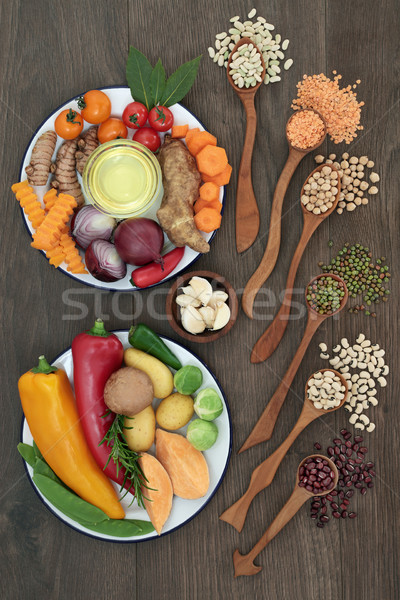 Health Food Selection Stock photo © marilyna