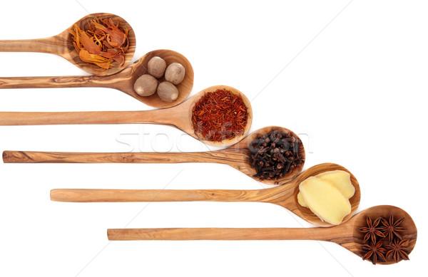 Spice Selection Stock photo © marilyna