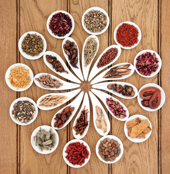 Chinese Medicine Sampler Stock photo © marilyna