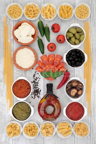 地中海料理 地中海 健康食 食品 パスタ ストックフォト © marilyna