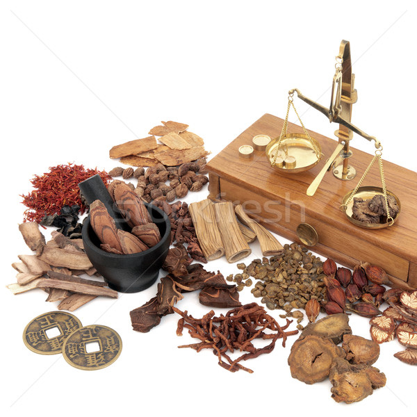 Traditional Chinese Medicine Selection Stock photo © marilyna