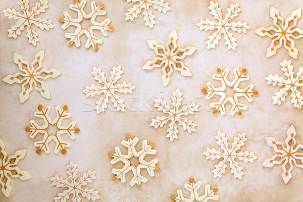 Snowflakes Stock photo © marilyna