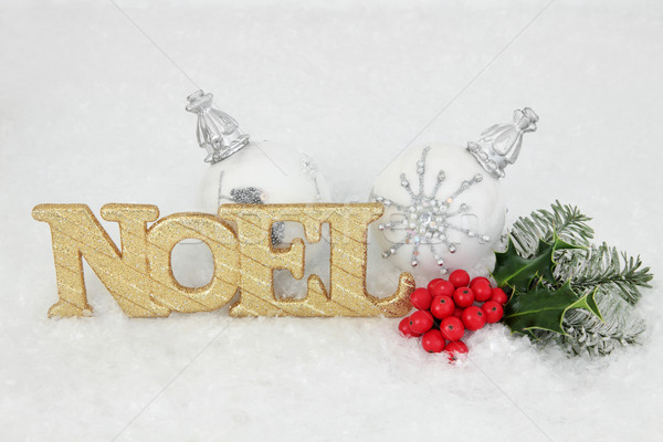 Stock photo: Noel Decoration