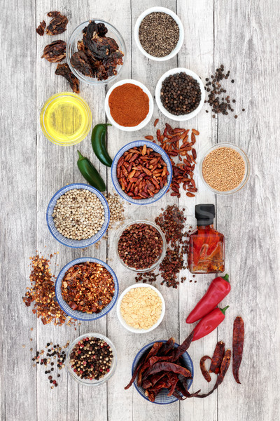 Hot Herb and Spice Seasoning  Stock photo © marilyna