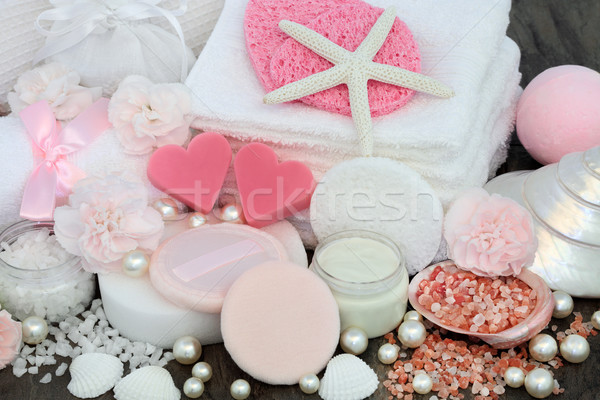 Skincare and Body Care Beauty Treatment Stock photo © marilyna