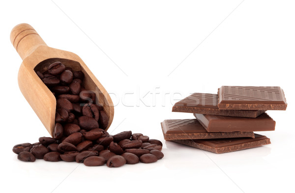 Coffee and Chocolate Temptation Stock photo © marilyna