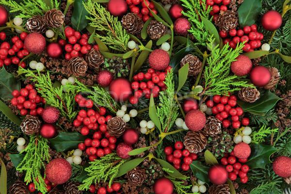 Christmas Decorative Background Stock photo © marilyna