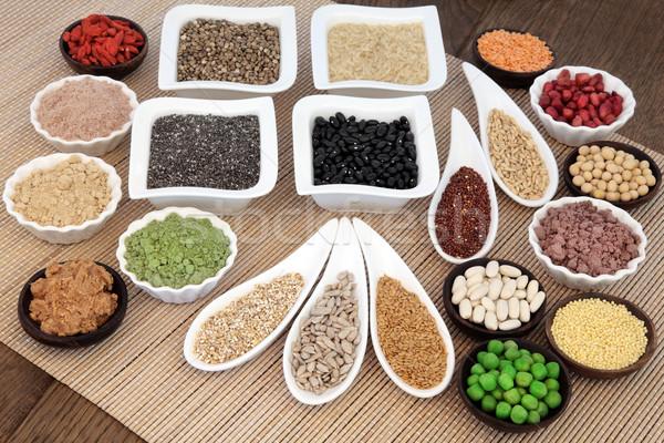 健康 食品 ボディービル スーパー タンパク質 小麦 ストックフォト © marilyna