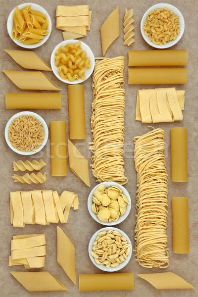 Italian Pasta Selection Stock photo © marilyna