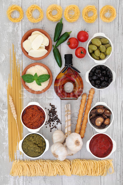 Healthy Mediterranean Food  Stock photo © marilyna