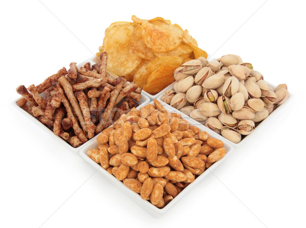 Savoury Snack Food Stock photo © marilyna