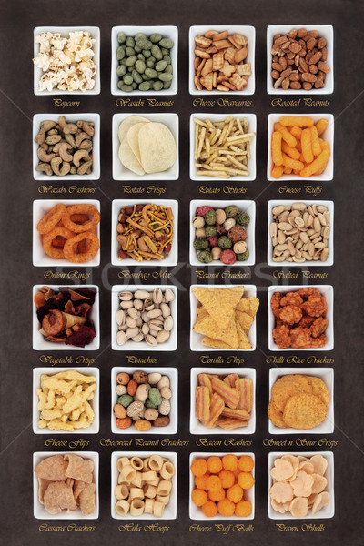 Méchant Nice alimentaire casse-croûte carré Photo stock © marilyna
