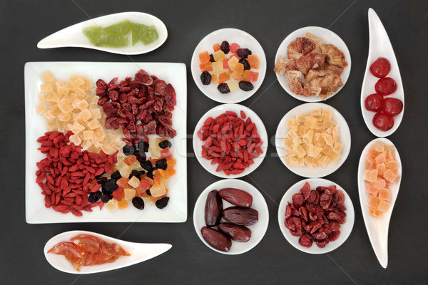 Healthy Dried Fruit Stock photo © marilyna