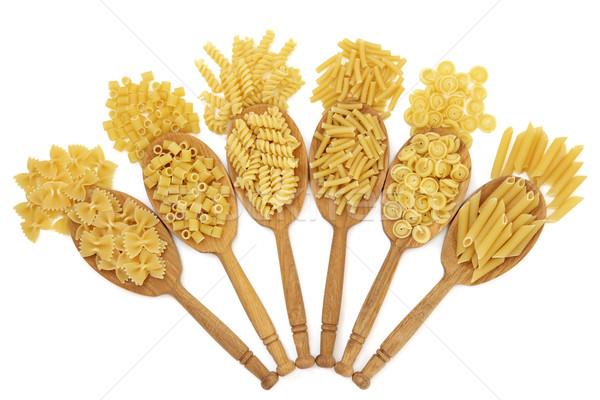 Dried Pasta Types Stock photo © marilyna