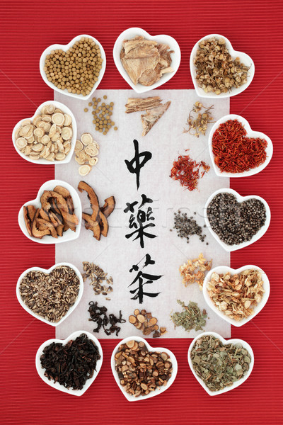 Chinese Herb Tea Stock photo © marilyna