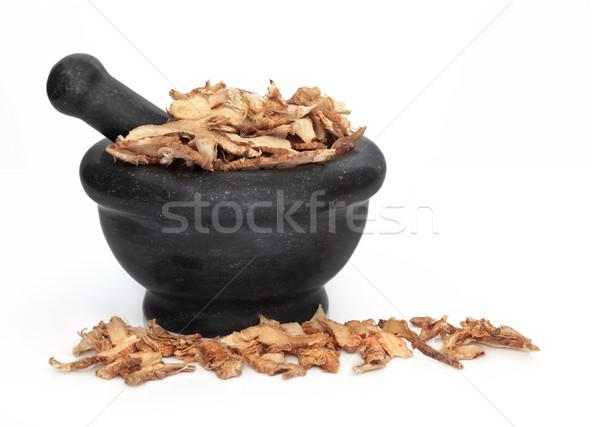 Liquirizia radice usato tradizionale cinese Foto d'archivio © marilyna