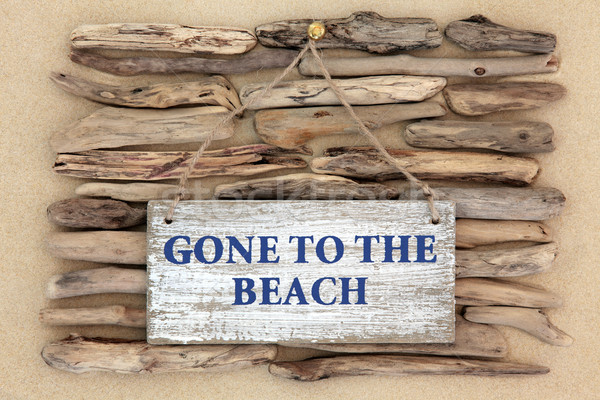Gone to the Beach Stock photo © marilyna