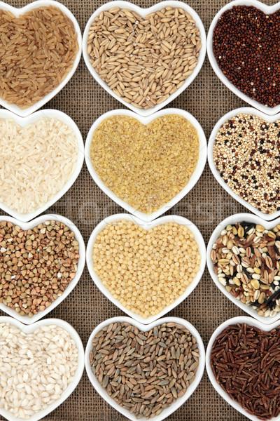 Grain Food Stock photo © marilyna